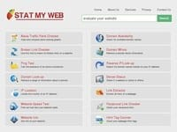 Stat My Web. Analyse rapide d un site Web