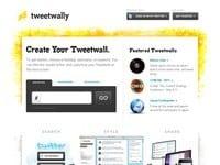 TweetWally. Votre veille sur Twitter sous la forme d'un mur de tweets.