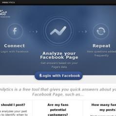 Minilytics. Analyse de votre audience sur Facebook.