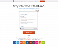 Chime. Outil de notification pour Chrome.