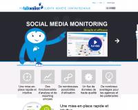 TalkWalker. Veille medias et reseaux sociaux.