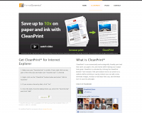 CleanPrint. Personnalisez le contenu de votre curation