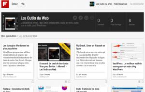 Flipboard outils web