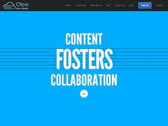 Clipsi. Outil de curation collaboratif