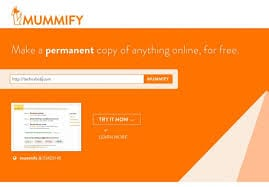 Mummify. Empaillez le web