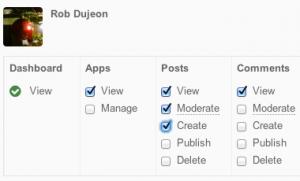 gestion facebook en equipe