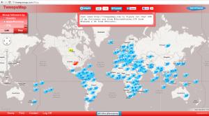 Tweepsmap