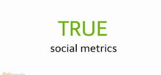 True social metrics