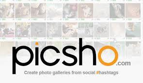 Picsho. Recherche et curation d'images sur les reseaux sociaux