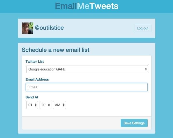 EmailMETweets
