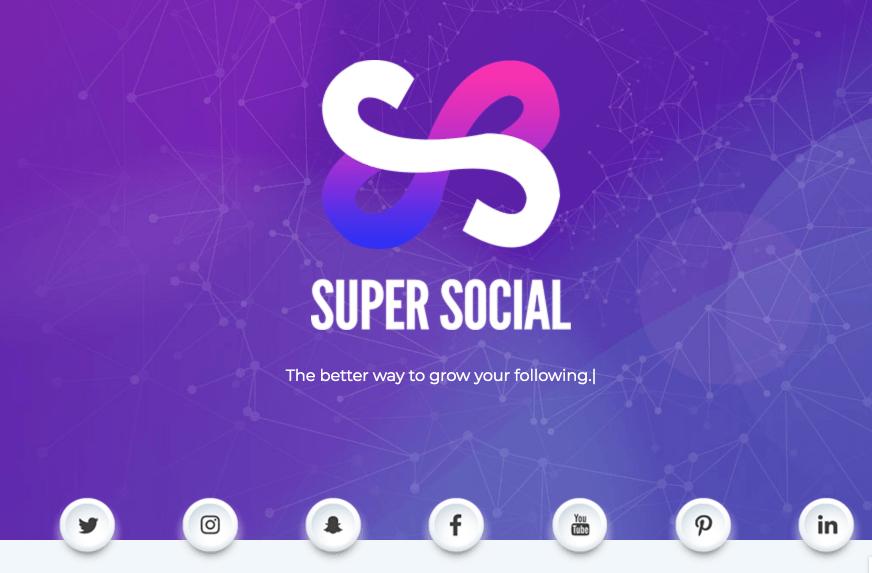 Super Social Se Veut Pratique Pour Vous Aider A Diffuser Votre Identite Digitale Et Cest Vrai Quil Lest Dune Certaine Maniere